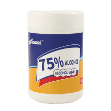 75% Alcohol Sanitizing Disinfectant Wet Wipes Barrel